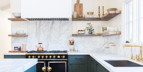 Open Shelving? These 15 Kitchens Might Convince You Otherwise on kitchen shelves with baskets, kitchen shelving, kitchen floating shelves, kitchen counter organizers, kitchen shelf organizers, kitchen cabinet slide out shelves, kitchen hutches for small kitchens, kitchen shelves ideas, kitchen built in shelves, shelves for kitchen cabinets, kitchen with shelves no upper cabinets, kitchen cabinets and shelves, kitchen cabinet curtains, kitchen wall shelves, kitchen with open shelves, kitchen shelves and storage, kitchen cabinet wood shelves, kitchen shelves for small spaces, kitchen shelves rather than cabinets, kitchen cabinet top decor christmas,