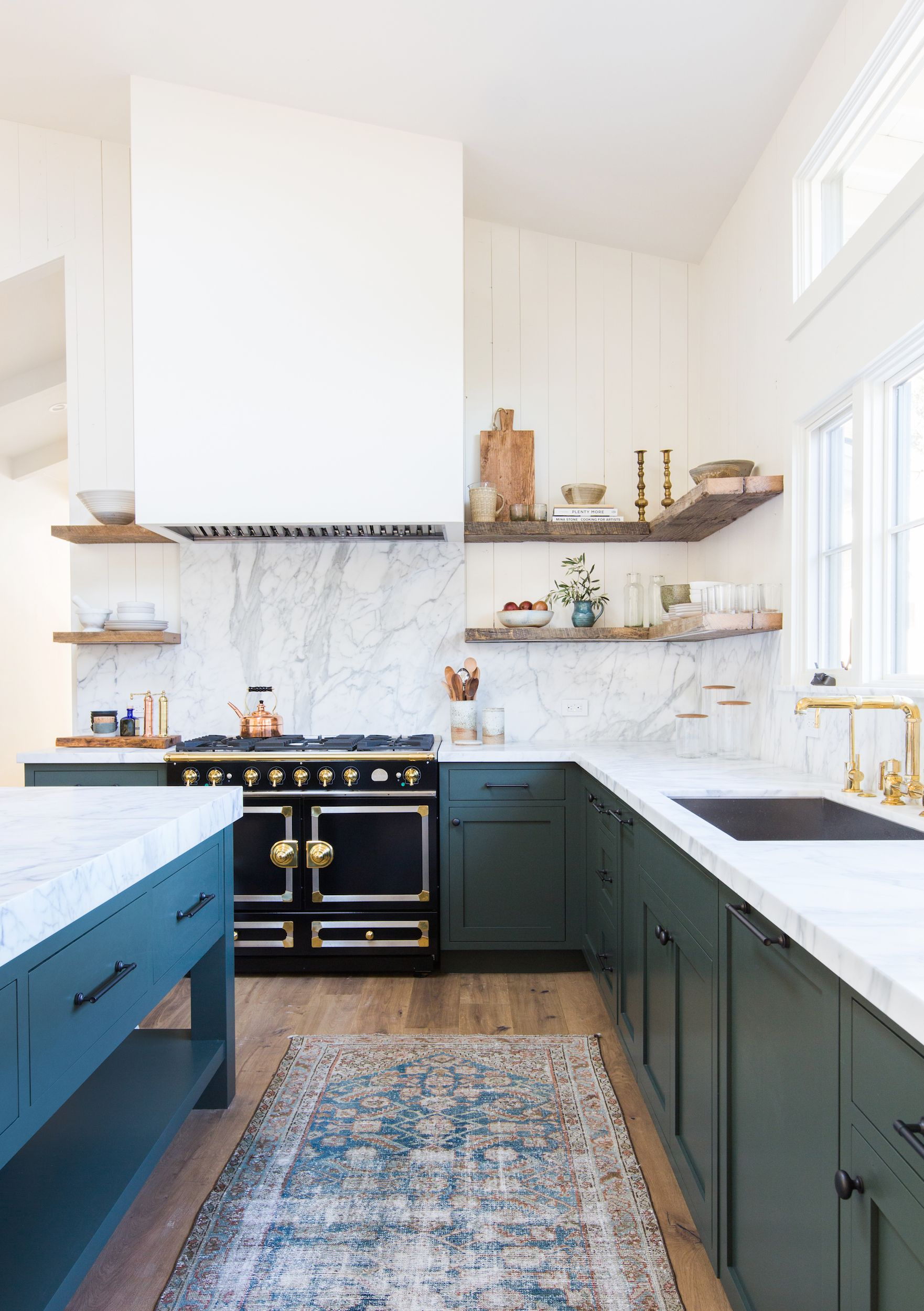 surprising Open Cabinets In Kitchen Part - 6: House Beautiful