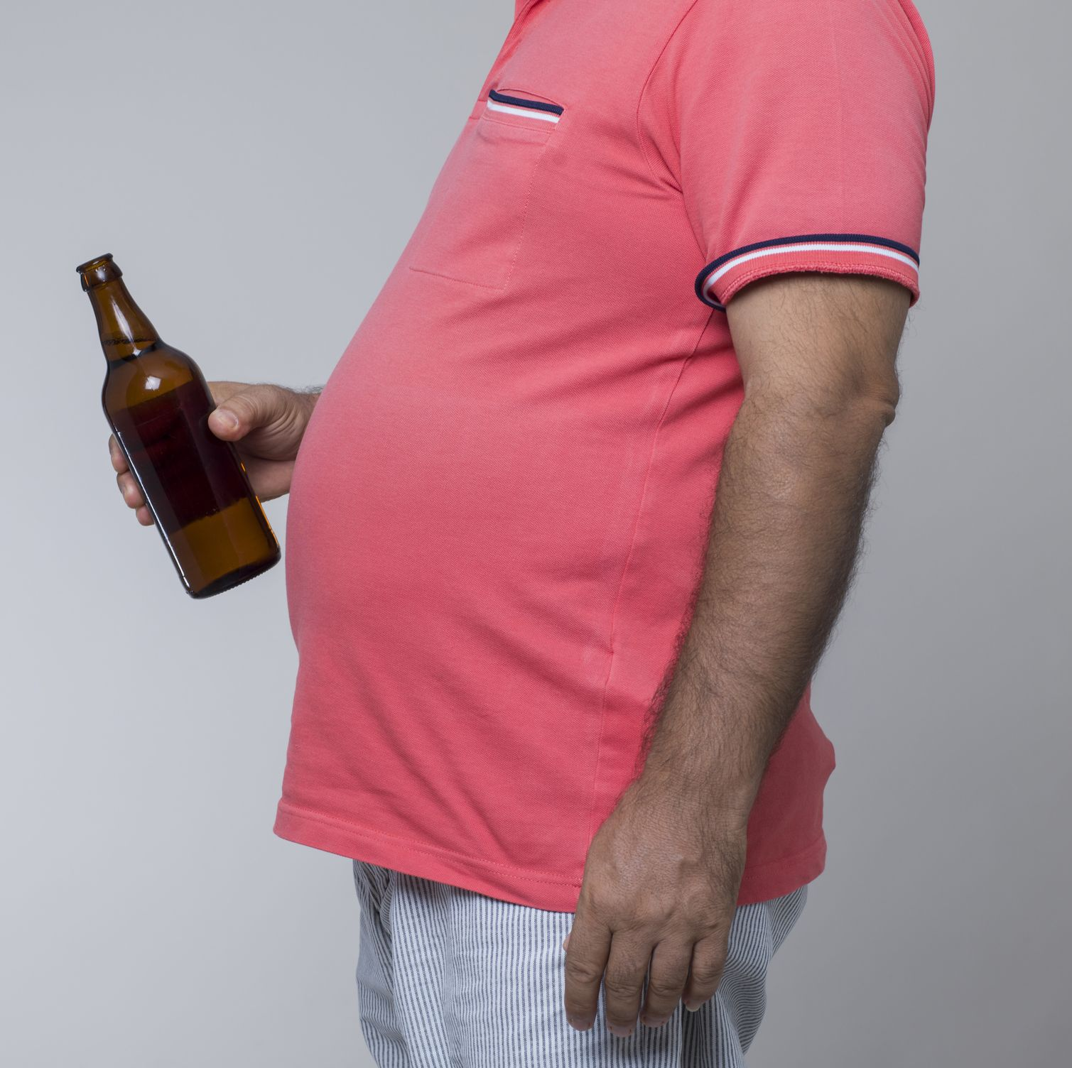 Wondering Why Your Beer Belly Is Hard? Here Are 5 Possible Causes.