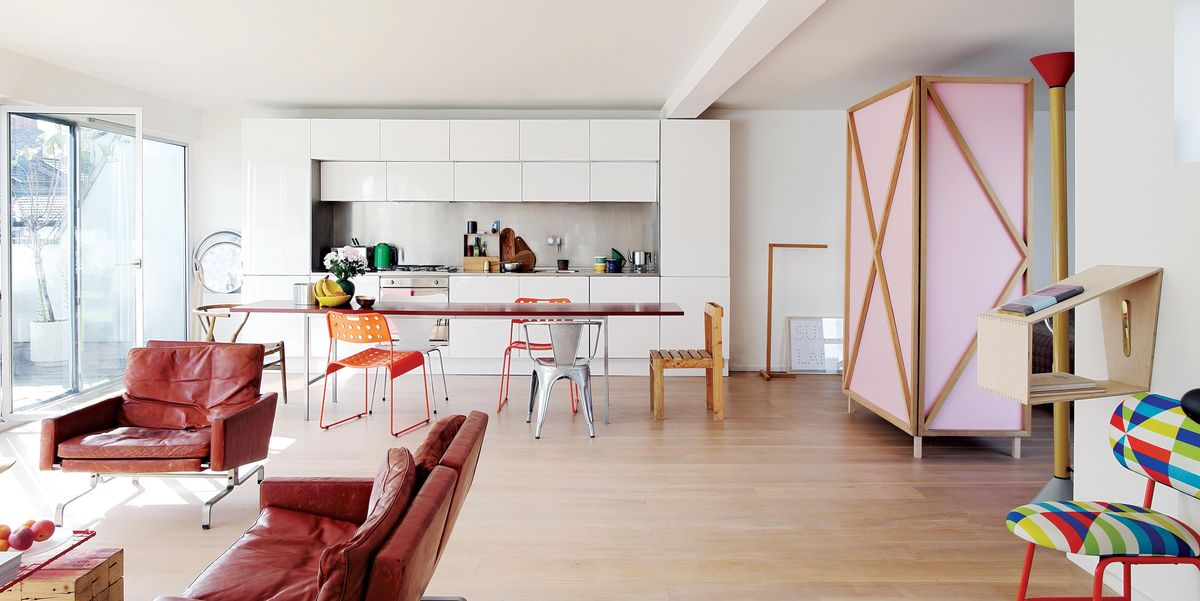 See inside architecture and design firm Studiomama's colourful and idea-filled London home