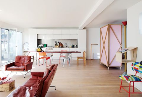 studiomama london home open plan living room and kitchen