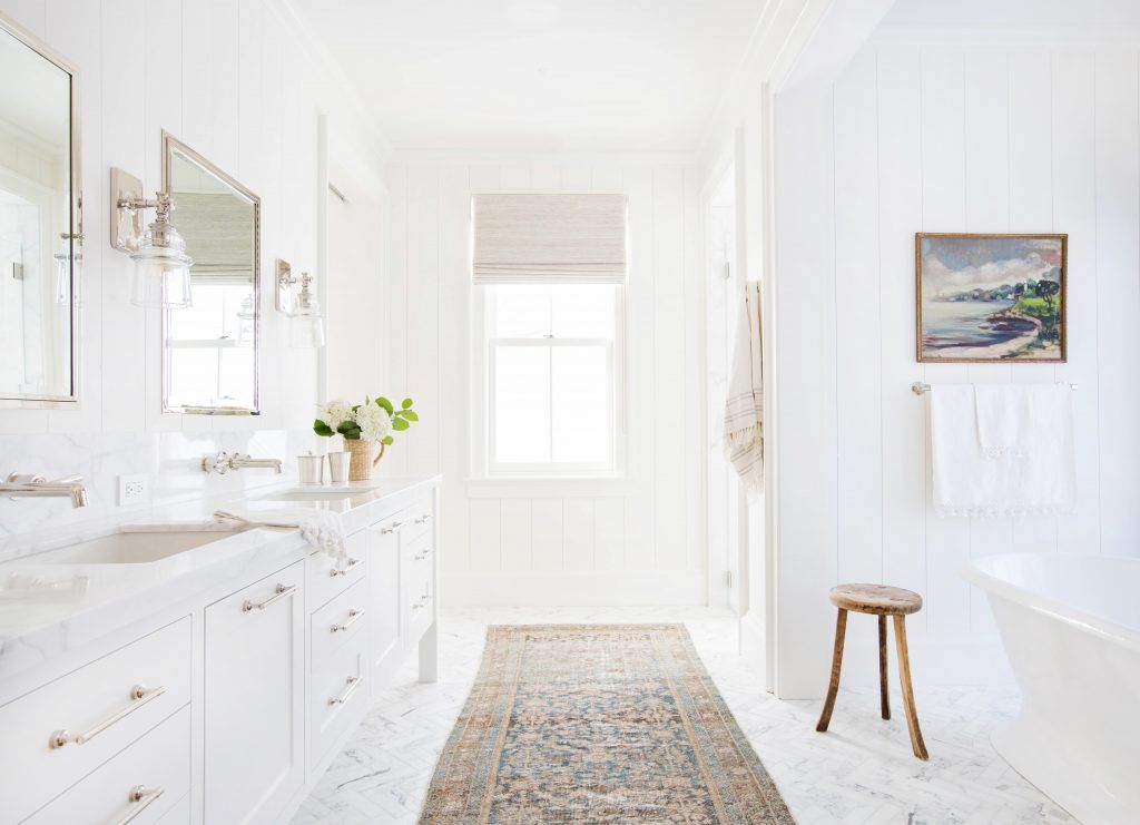 15 white bathroom ideas decorating white bathrooms rh housebeautiful com