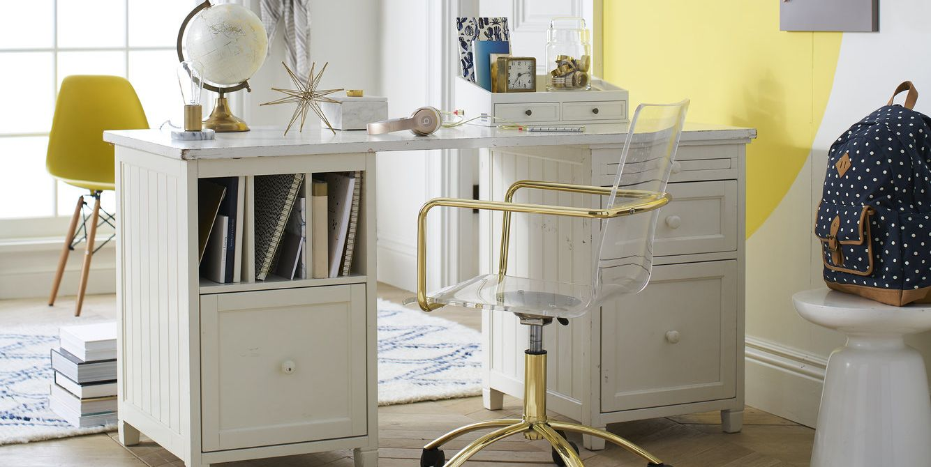 Desk Chairs That Make A Statement Chic Removable Wall Decals And Other Clever Ways To Spice Up Your Space
