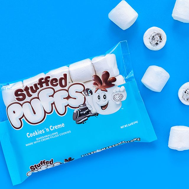 stuffed puffs cookies 'n creme marshmallows