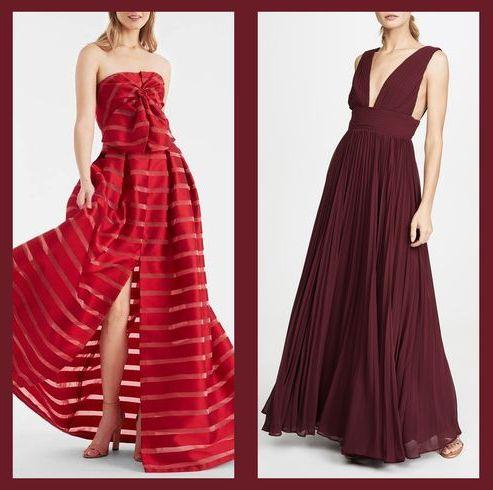 stunning red wedding dresses