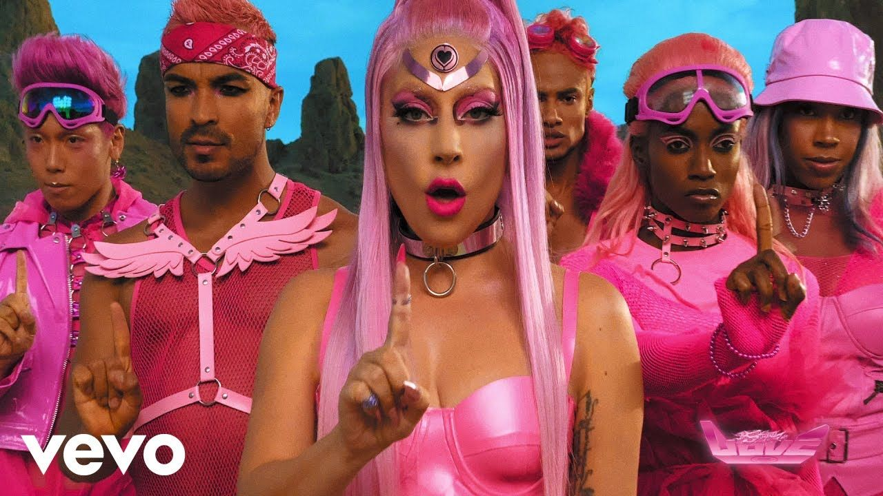 Lady Gaga and Her Posse of Pink Power Rangers Will Save the World
