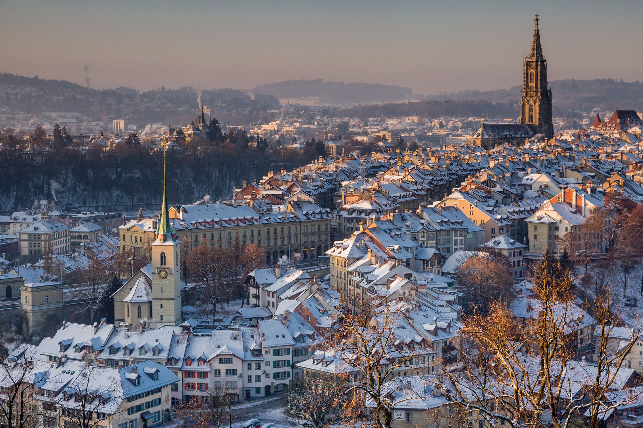 Bern, the underrated Swiss capital to visit on a winter city break