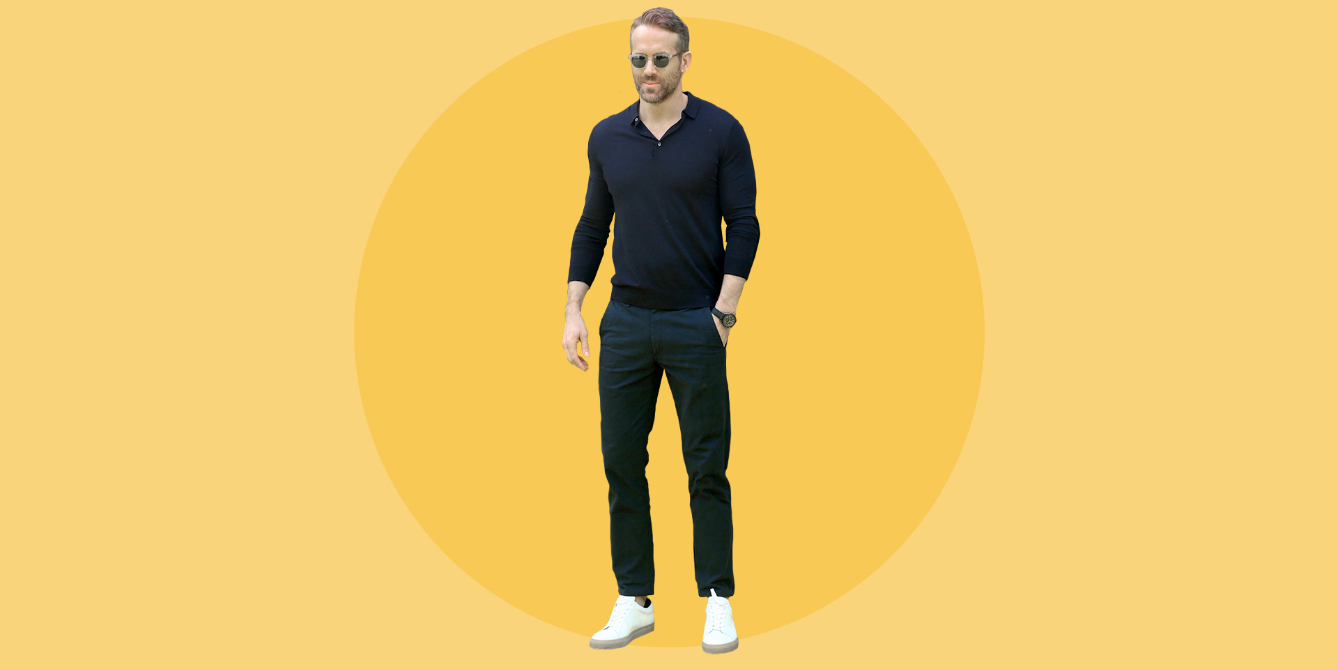 Here's Where to Get Ryan Reynolds' Outfit-Making Sneakers