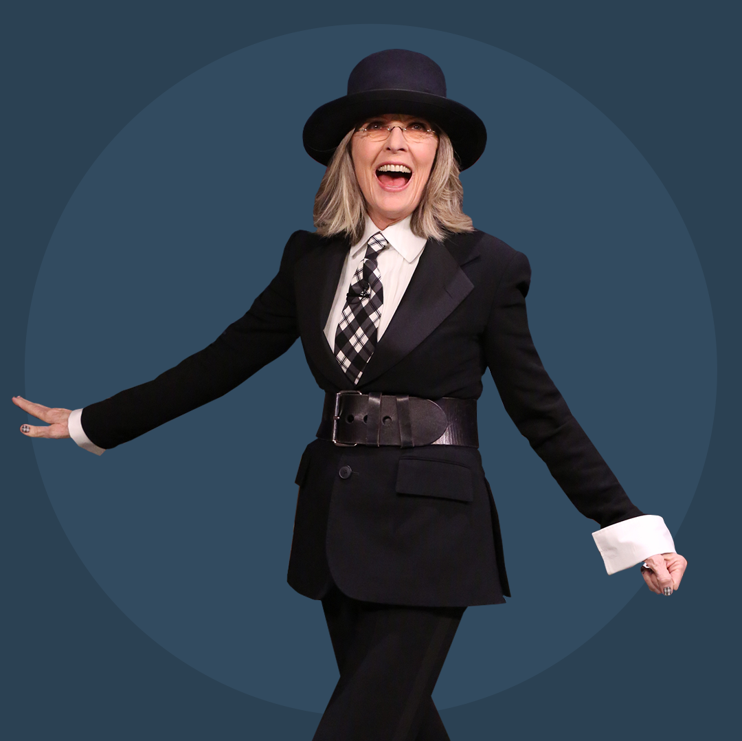 Diane Keaton Is (Still) a Suit Style God