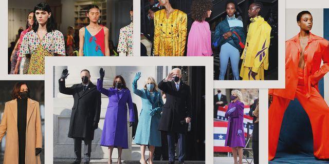 kamala harris and jill biden's inauguration fashion