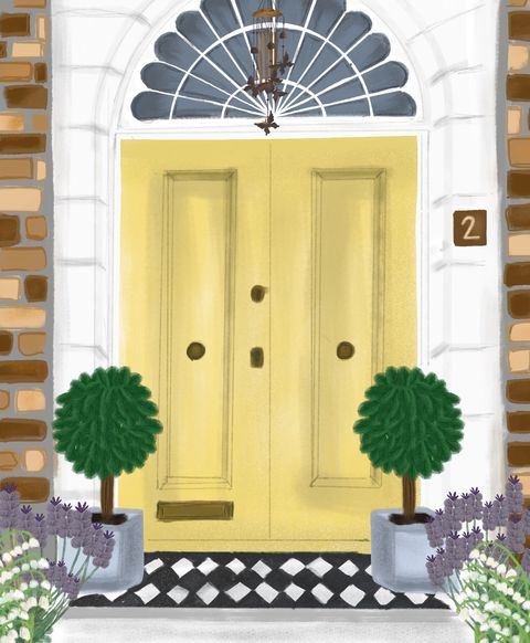 how to style your front door based on your zodiac sign