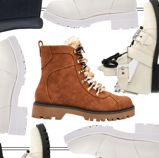 Cute Combat Boots to Help You Battle Your Winter Blues