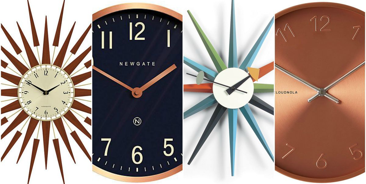 Best Stylish Wall Clocks To Buy Modern Copper