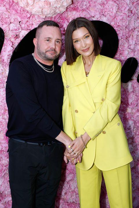 dior homme front row   paris fashion week   menswear springsummer 2019