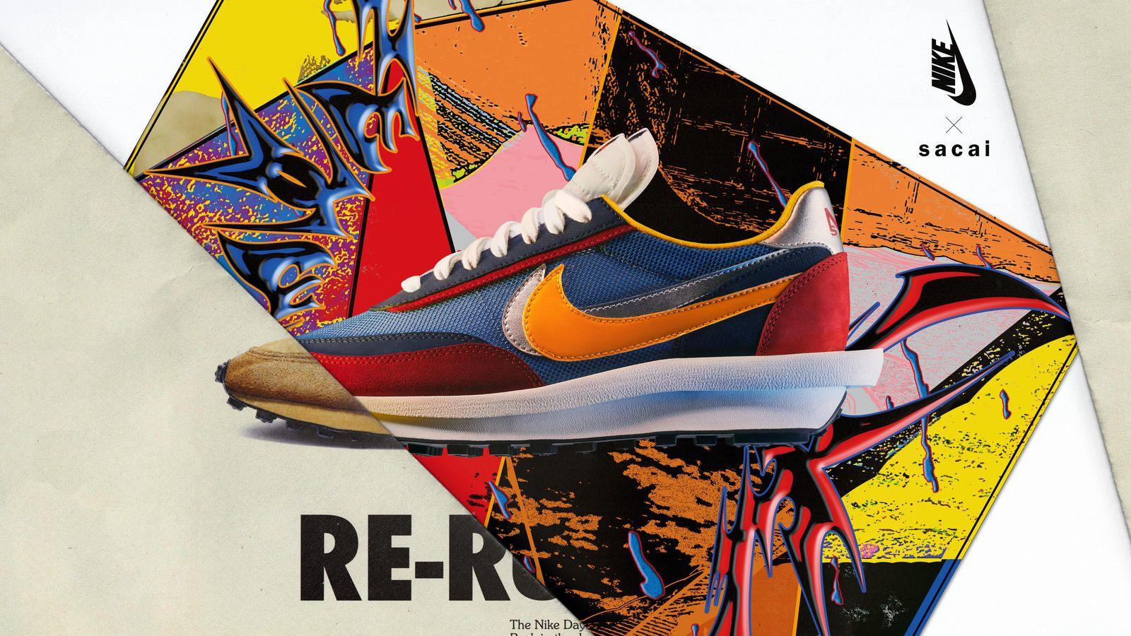 Nike x Sacai, las zapatillas más buscadas de 2019 ya tienen fecha de venta
