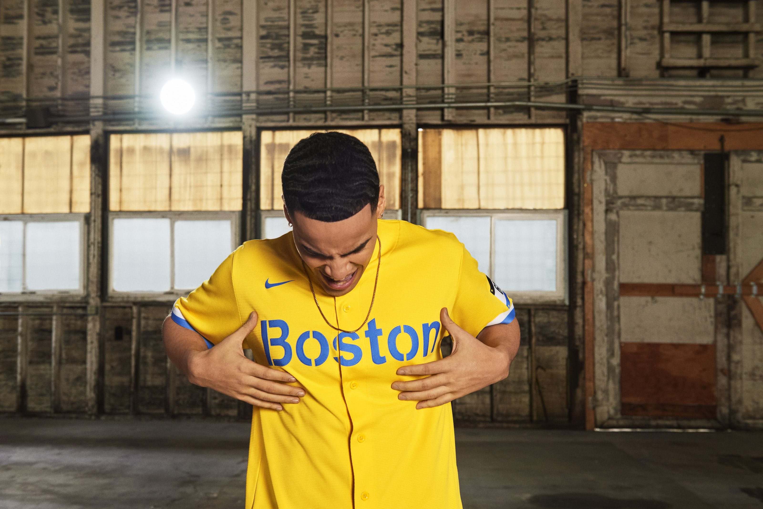 Boston Red Sox City Connect Jersey