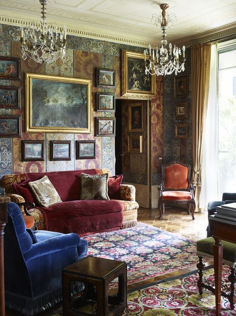 Desain interior maksimalisme - ada sejak dulu