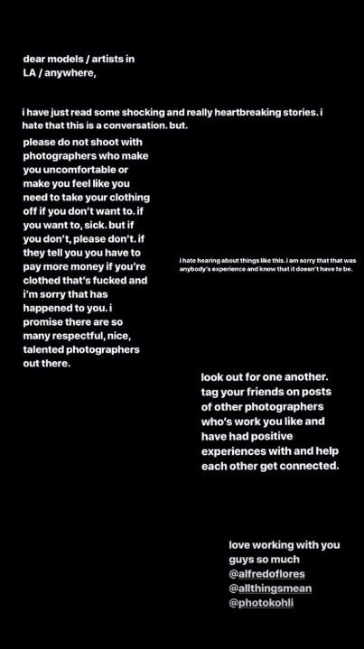 Ariana Grande Just Called Out Her Ex-Photographer for