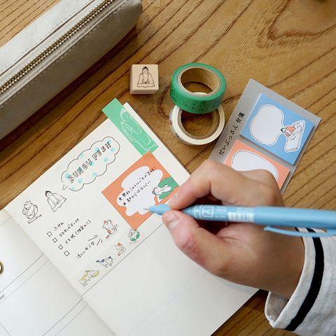 日本推出「佛祖和貓咪」系列文具!可愛又暖心的設計,佛系少女必買呀