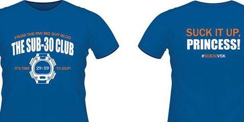 Sub-30 Club T-Shirts