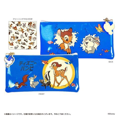 超復古的迪士尼「小鹿斑比」設計小物!化妝包上的小動物拉鍊、眼鏡袋裡的卡通擦拭布都太精緻,少女必收!
