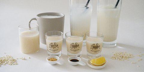 Soy milk, Grain milk, Milk punch, Milk, Rice milk, Drink, Almond milk, Plant milk, Hemp milk, Raw milk,