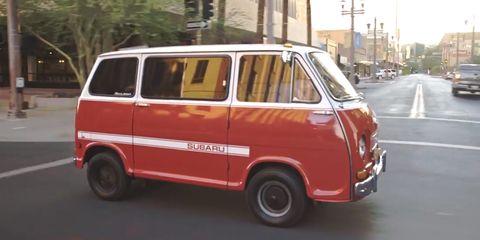 Land vehicle, Vehicle, Car, Van, Motor vehicle, Mode of transport, Compact van, Microvan, Classic car, Minivan,