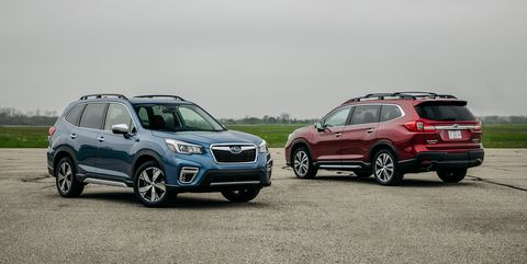 Subaru Ascent Vs Forester Boxer Battle