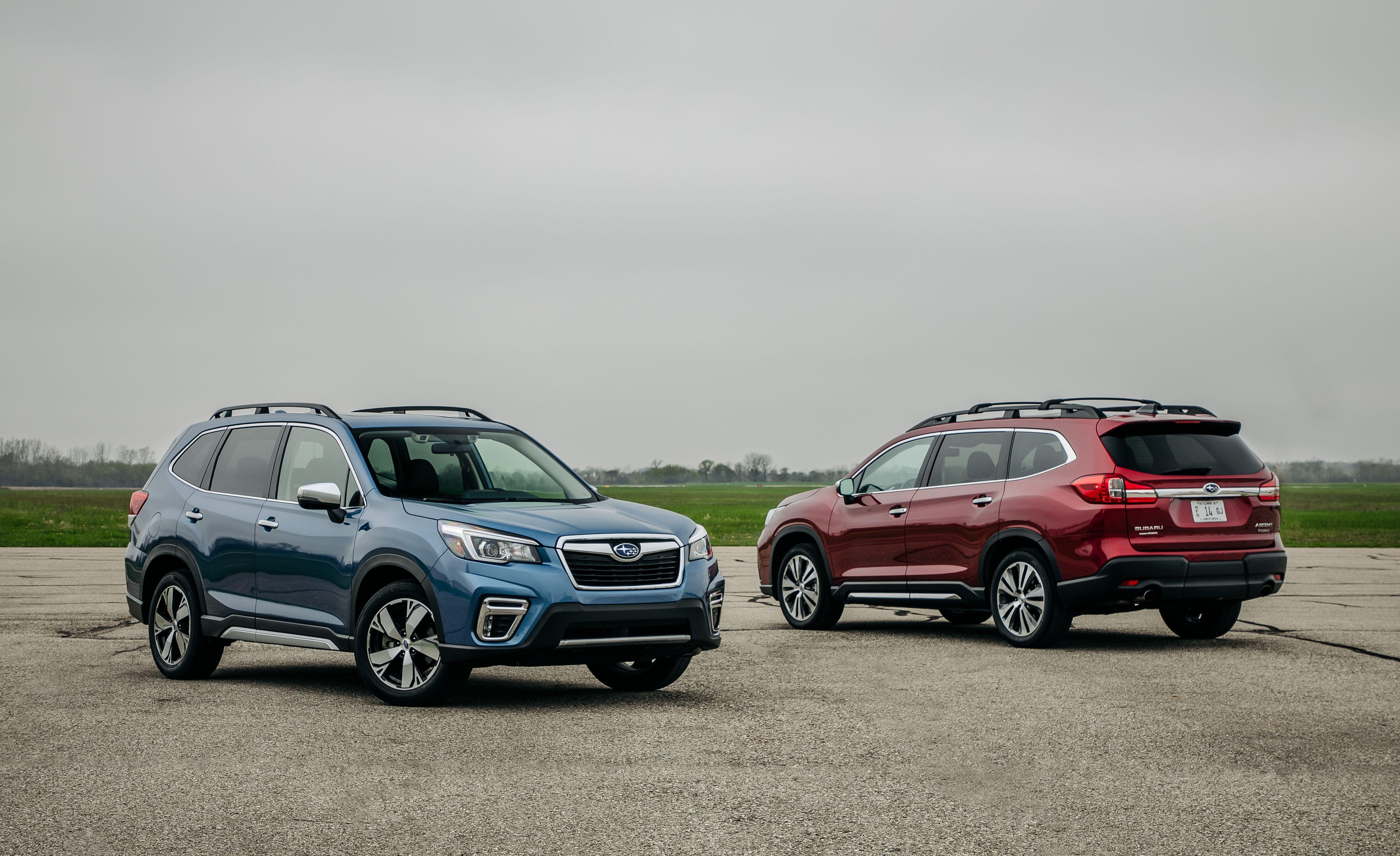 2019 Subaru Ascent Vs 2019 Subaru Forester
