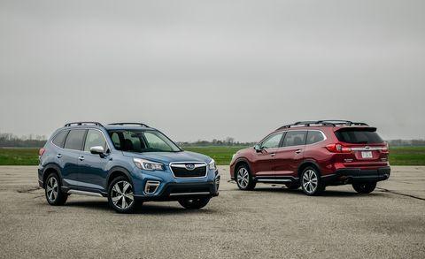 Flipboard: 2019 Subaru Ascent vs. 2019 Subaru Forester ...