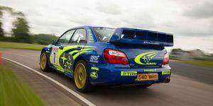 Subaru Impreza WRC 2003 de Petter Solberg a la venta