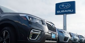 Subaru Airbag Sensor Recall