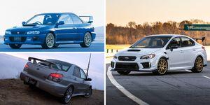 Subaru STI S-car history