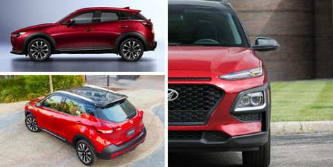 Subcompact Crossover Suvs Ranked