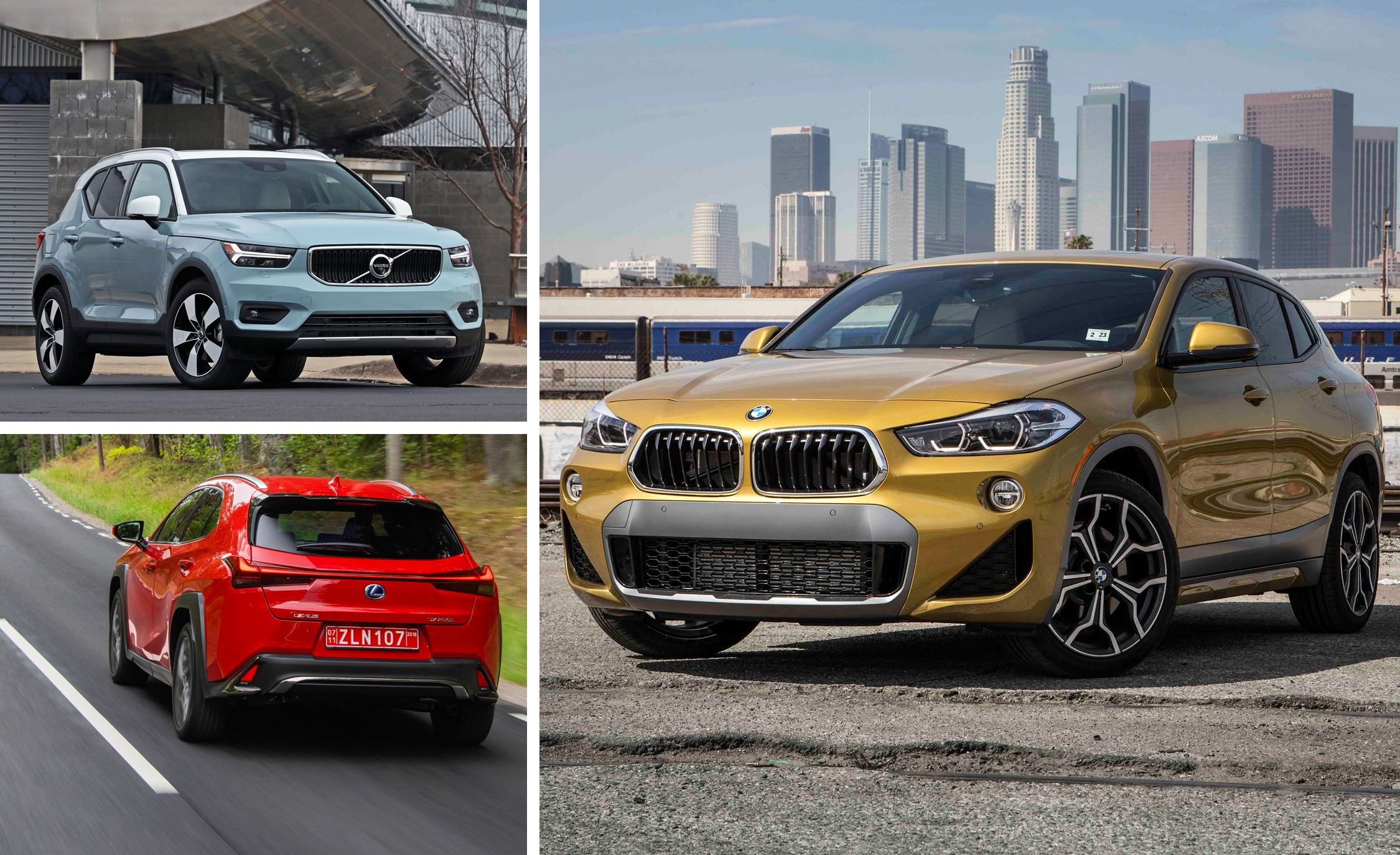 Every Subcompact Luxury Crossover Suv Ranked From Worst To Best Feature Car And Driver