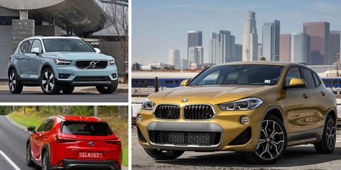 Subcompact Luxury Crossovers Ranked