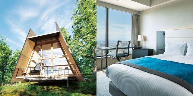 ホテルや別荘を周遊する、旅するような住まい方