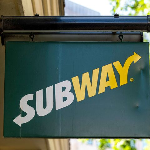 london, united kingdom   20200527 subway logo on their restaurant in the strand photo by dave rushensopa imageslightrocket via getty images