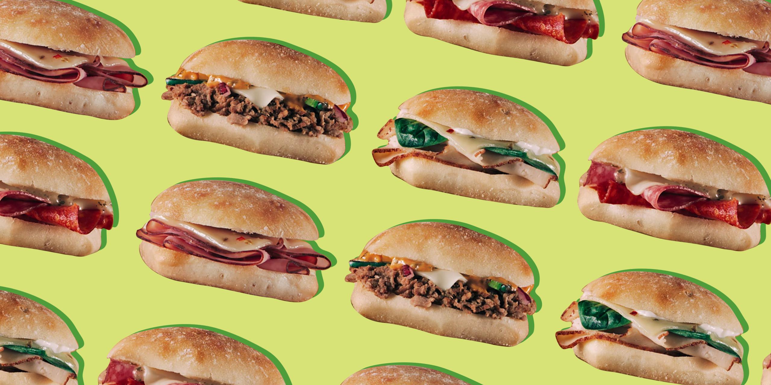 Subway Sliders Nutrition & Calories