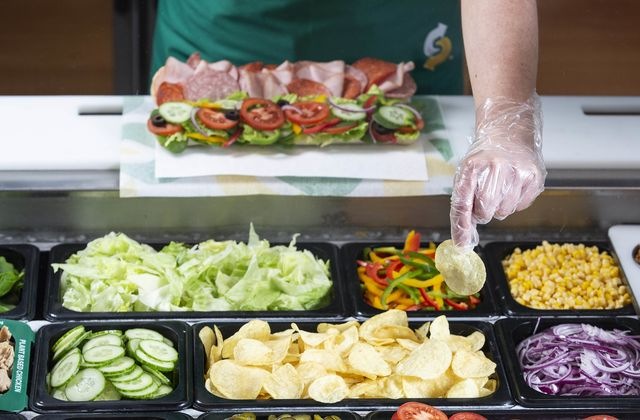 subway and walkers have joined forces so you can now have crisps in your sandwich