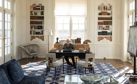 succession interiors   elle decor