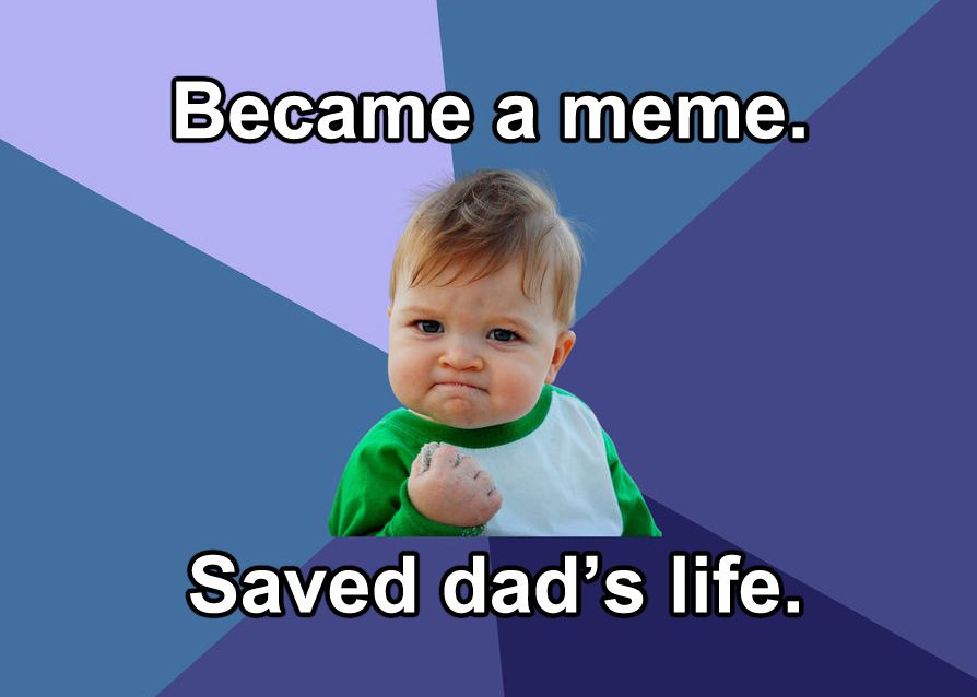 successkid 1481297641?crop=1xw 1xh;centertop&resize=480 * remember success kid? he's all grown up and literally saving lives