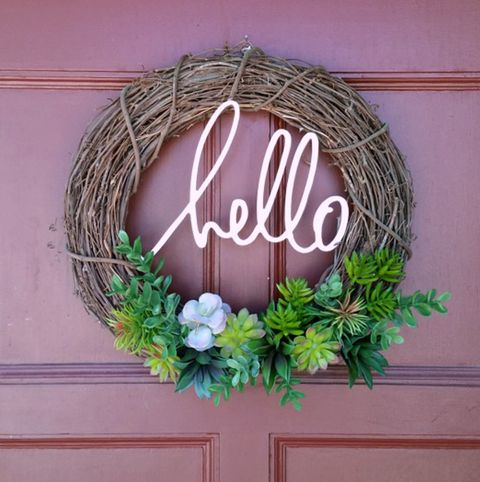 Hello Wreath - Summer Wreaths