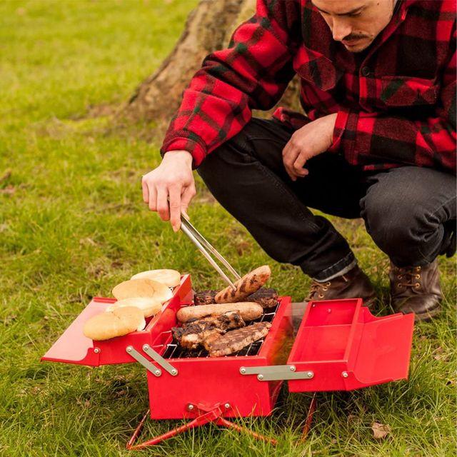 suck uk portable bbq grill toolbox