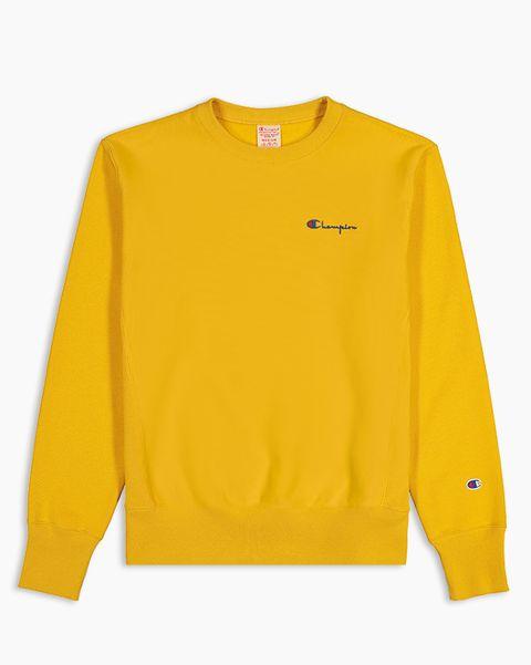 Sudadera amarilla champion
