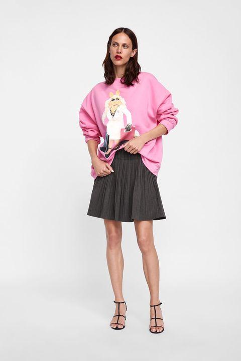 Zara te viste con The Muppets - Zara tiene la sudadera de Miss Piggy ...