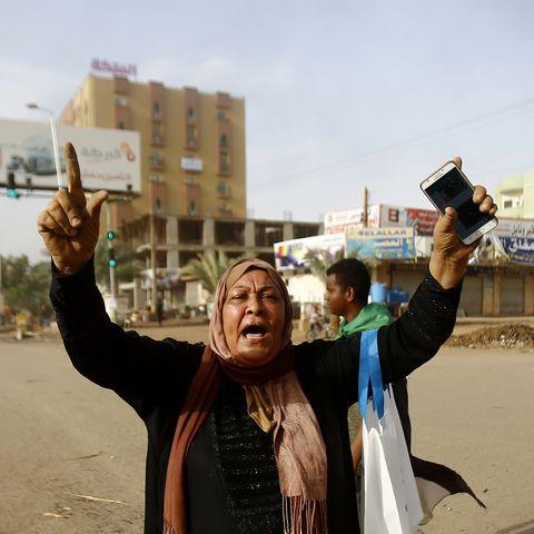 SUDAN-UNREST-PROTEST