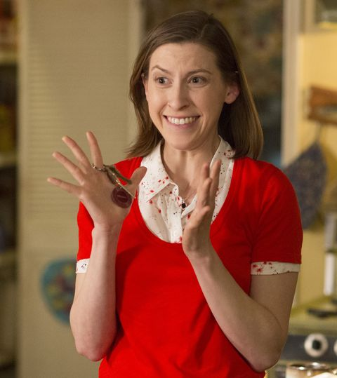 """Eden Sher as Sue Heck on """"The Middle"""