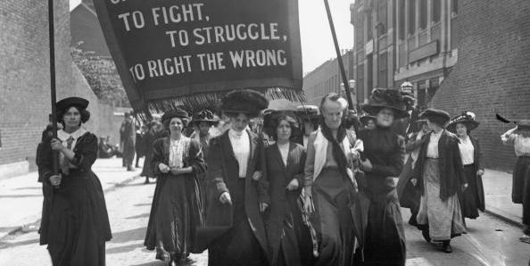 Image result for suffragette protest
