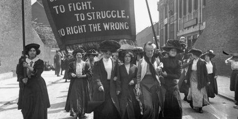 suffragettes centenerary